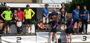 Huldiging eerste herenteam Kastelenloop 2017