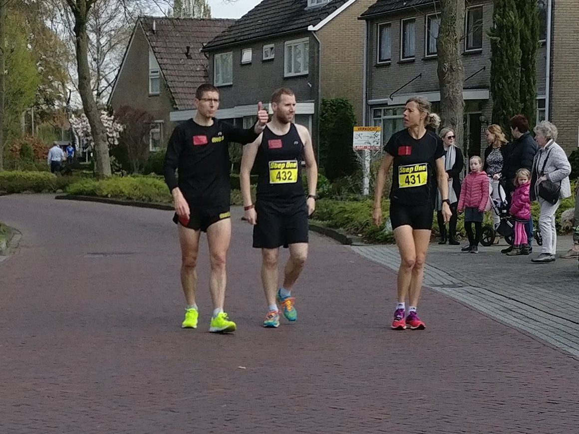 Richard, Stefan en Ingrid