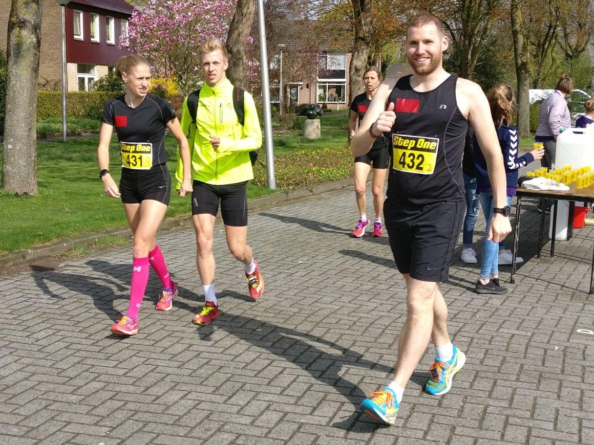 Lesley, Niels en Stefan