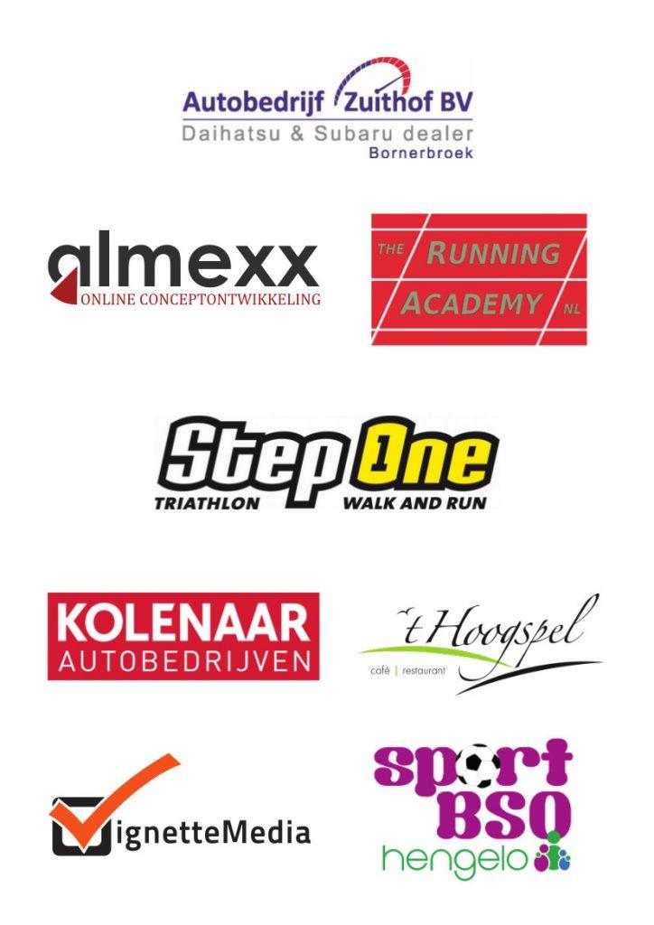 Organisatoren en sponsors Twickelloop 2019